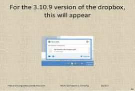 Dropbox 3.10